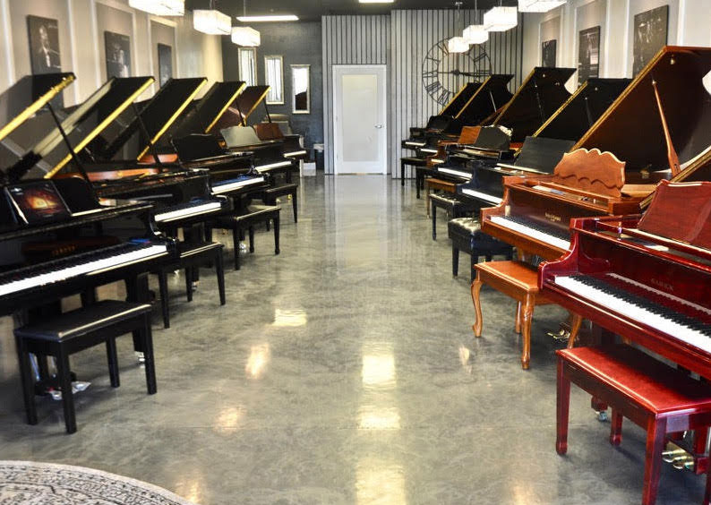 The Grand Piano Store Showroom